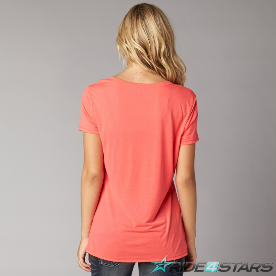 Dámské Triko Fox Miss Clean Scoop Tee Wild Cherry
