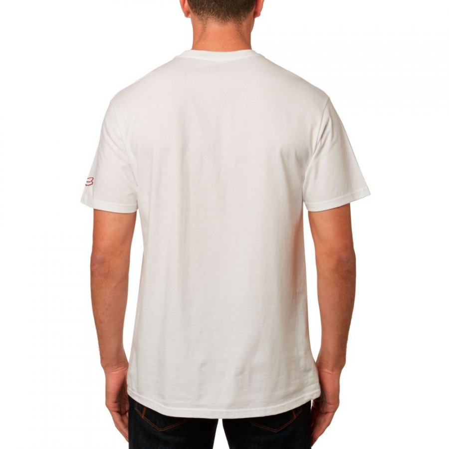 Triko Fox Hi Speed Tee optic white