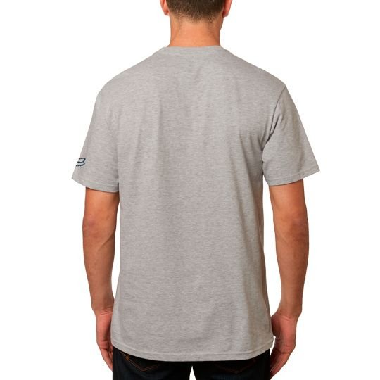 Triko Fox Hi Speed Tee heather graphite