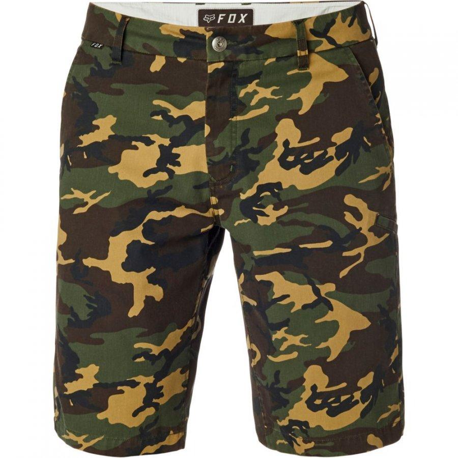 73e0938c3c Kraťasy Fox Essex Camo Short Green Camo