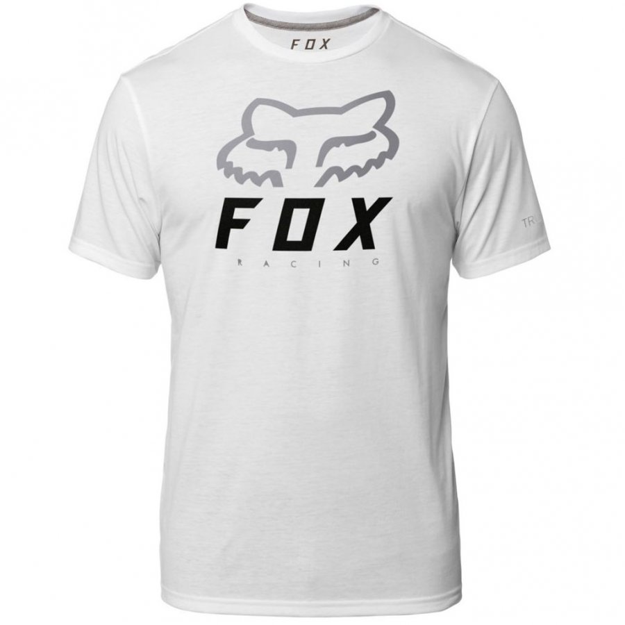 03367d3ab6ca Triko Fox Heritage Forger Tech Tee White