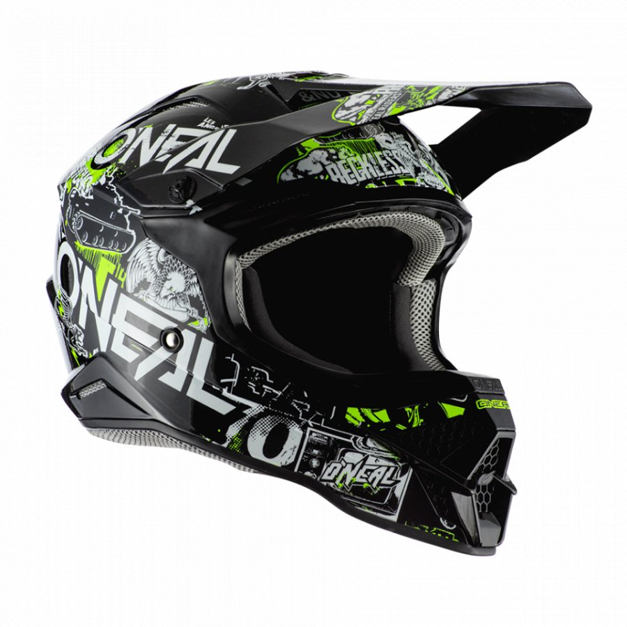 Helma Oneal 3Series Atatack 2.0 black/yellow
