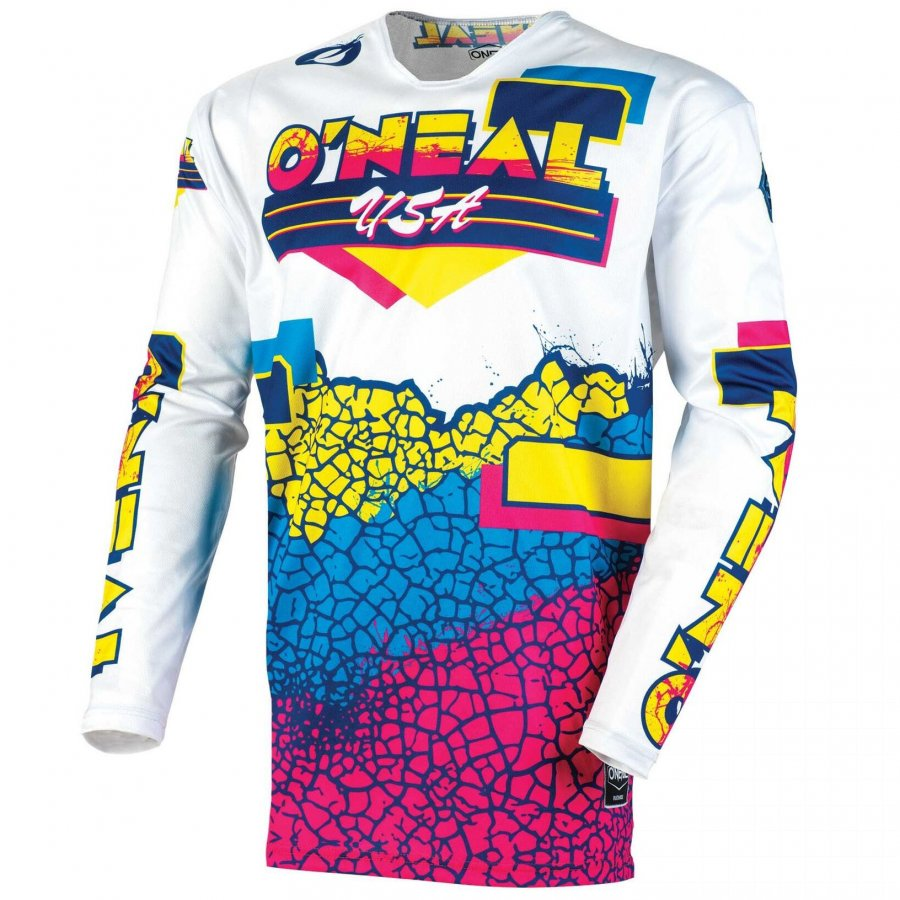 Dres Oneal Element Reflexx blue/yellow