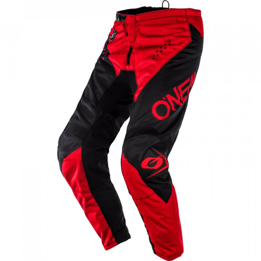 Kalhoty Oneal Element Racewear black/red