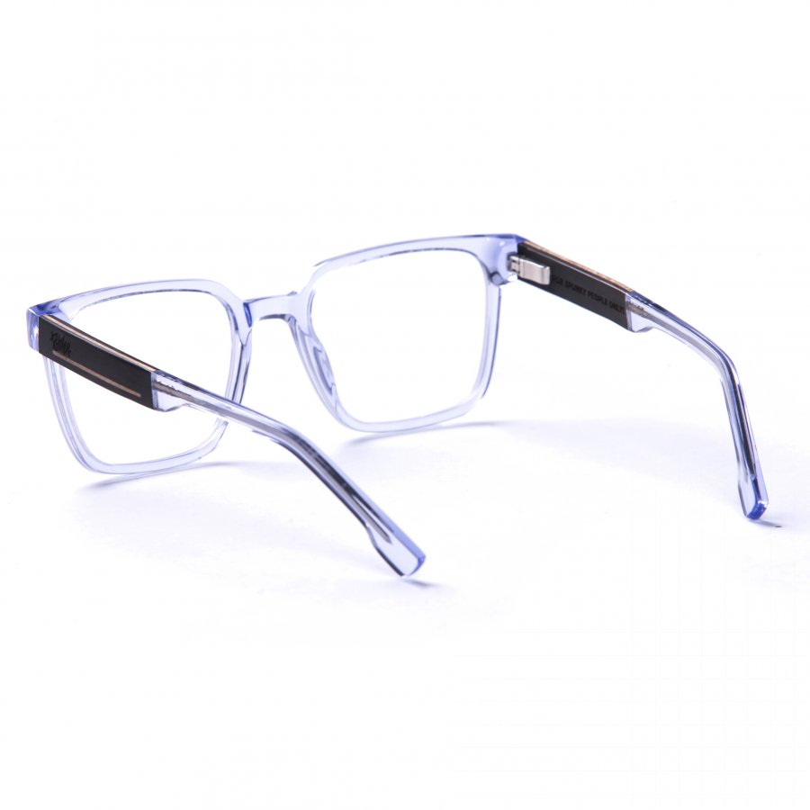 obroučky Pitcha WAZO frame transparent blue/ebony