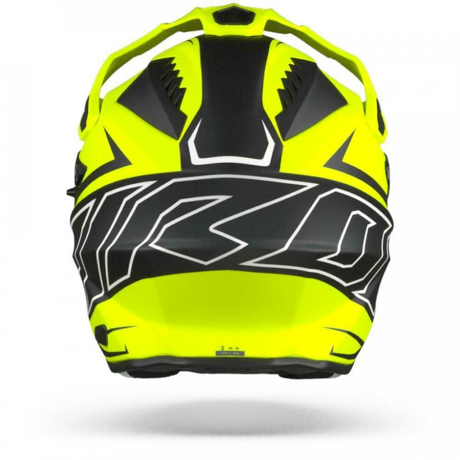 Helma Airoh Commander Duo fluo yellow/black/white matte