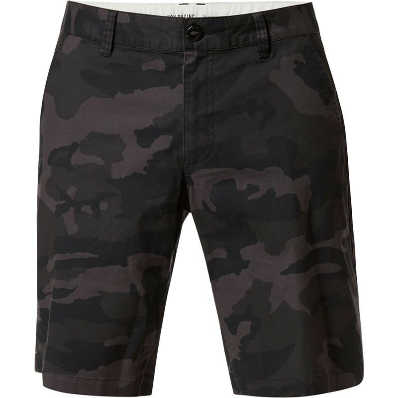 kraťasy Fox Essex Camo Short 2.0 black camor