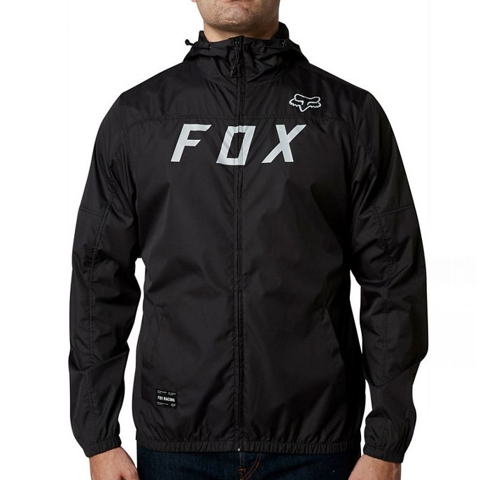 Bunda Fox Moth Windbreaker Light Indigo