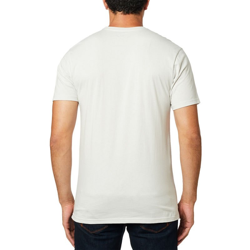 Triko Fox Non Stop Ss Premium Tee light grey