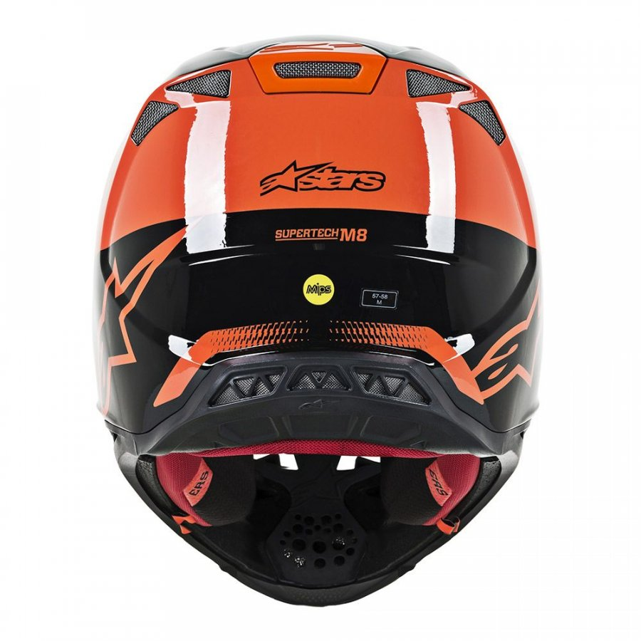 Helma Alpinestars Supertech S-M8 Triple 2020 orange/black/grey