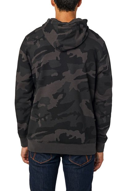 Mikina Fox Legacy Moth Camo Po Fleece black camo