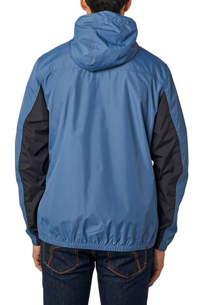 Bunda Fox Moth Windbreaker Blue Steel