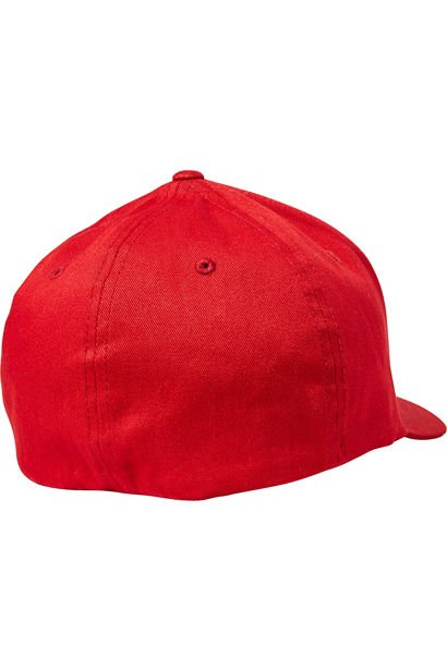 Kšiltovka Fox Epicycle Flexfit Hat red/white