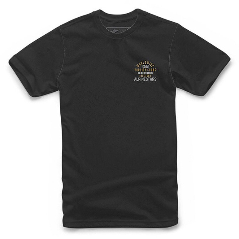 Triko Alpinestars Grand tee black/grey