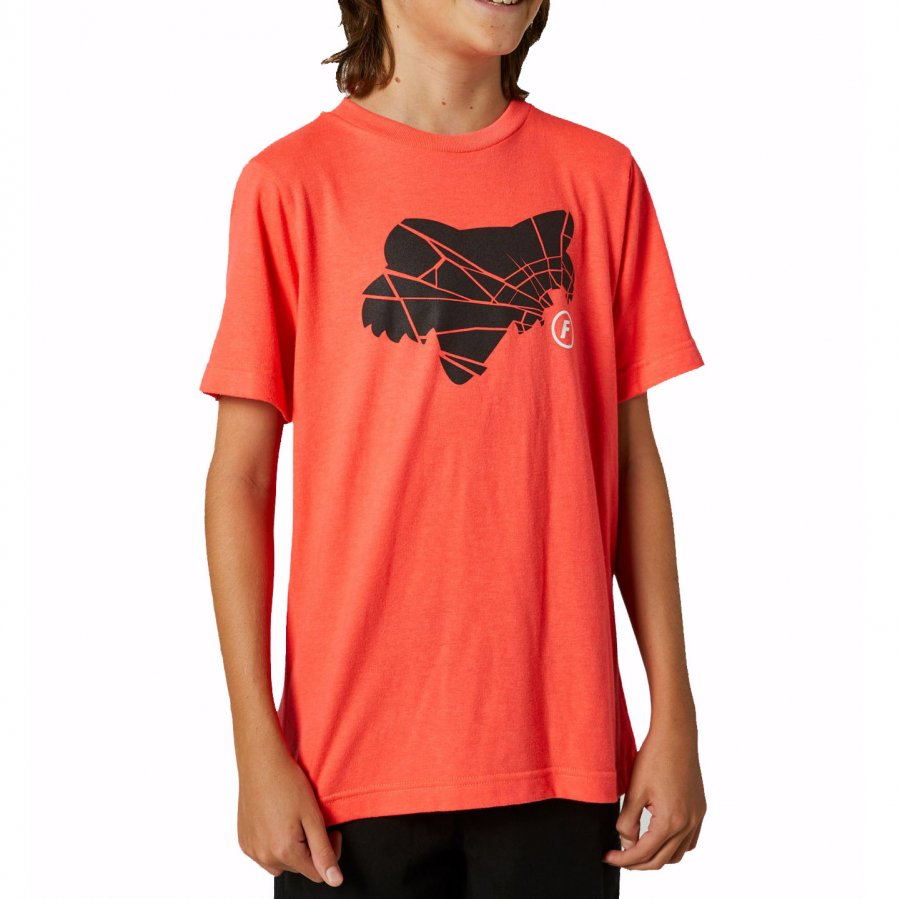 Dětské Triko Fox Youth Pc Block Ss Tee Black