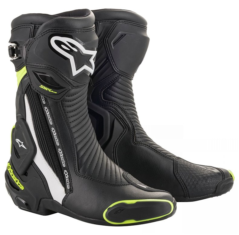 Boty Alpinestars SMX Plus 2020 black/white/yellow fluo