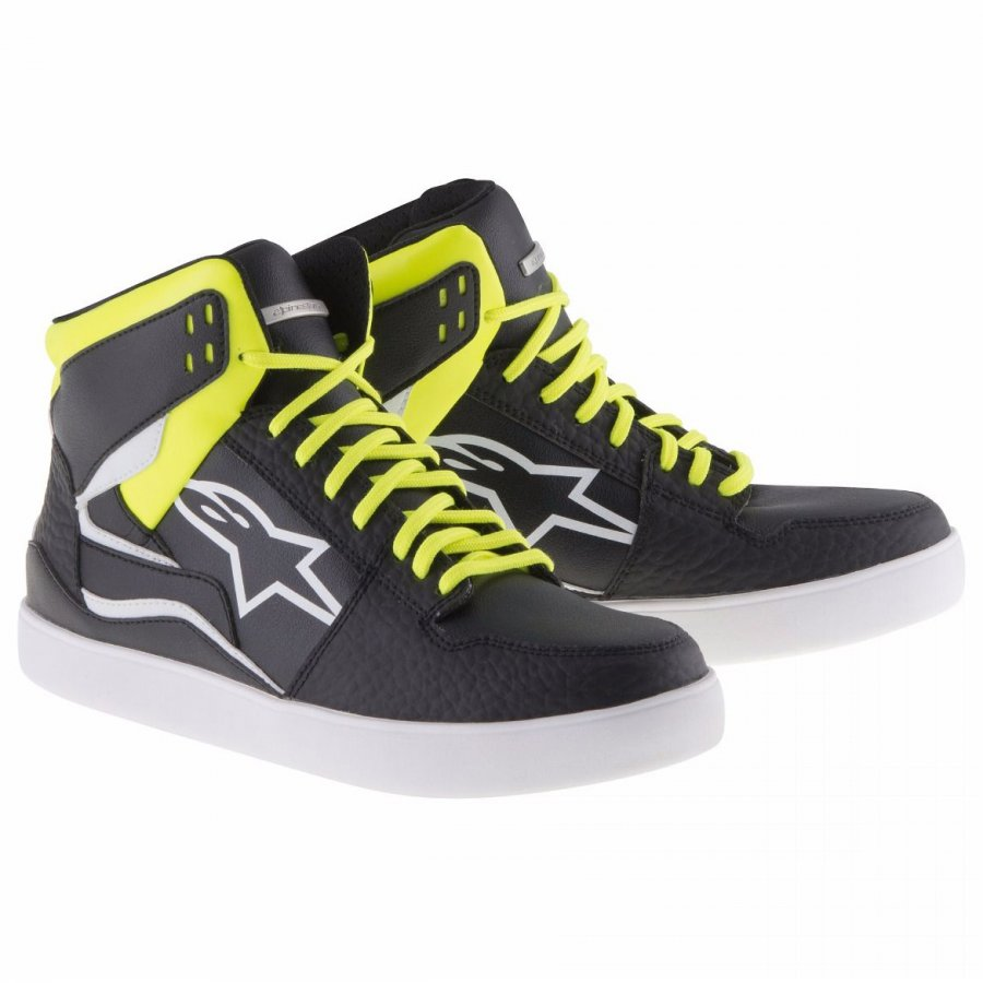 Boty Alpinestars Stadium black/fluo yellow