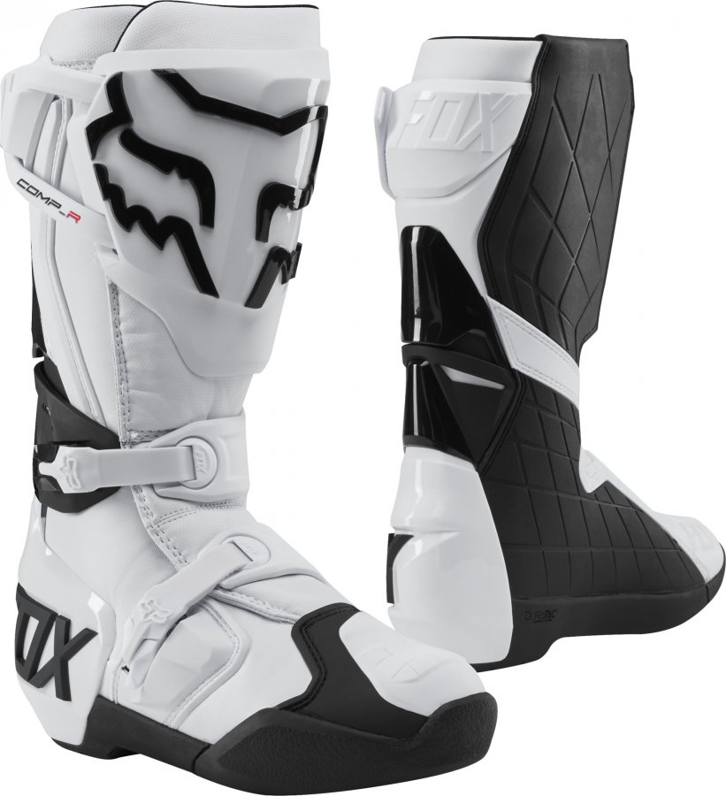 4938541d507 Boty Fox racing Comp R Boot White 2019 white