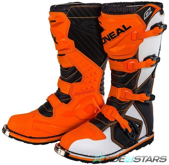 Boty ONeal Rider Boot Orange US7