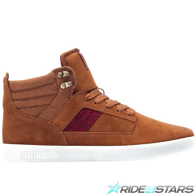 Boty Supra Bandit Herringbone Red/Brown