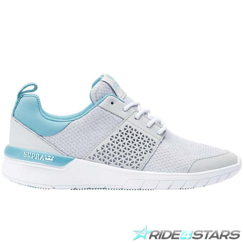 Boty Supra Scissor Light Grey/Aqua/White