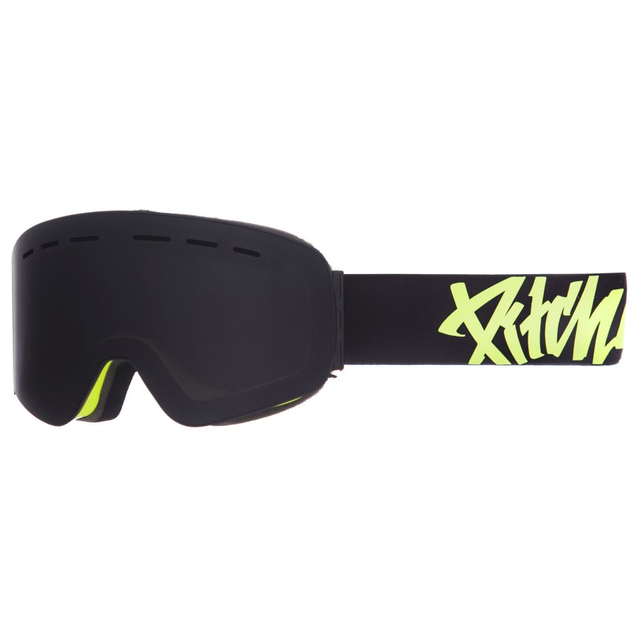 Brýle Pitcha XC3 fluo yelow / black