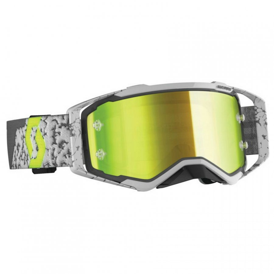 Brýle Scott Prospect grey/dark grey yellow chrome lens