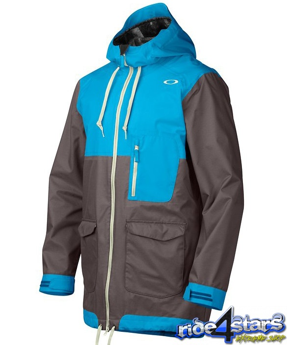 Bunda Oakley Ship Yard Snowboard Jacket Utility Blue