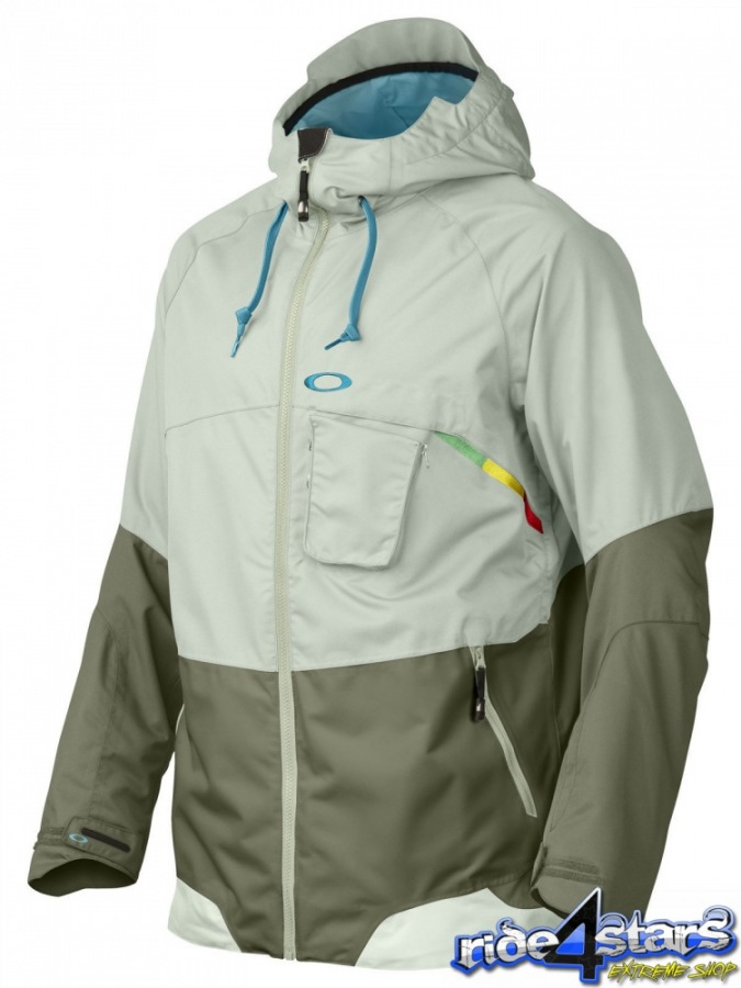 Bunda Oakley Stillwell Snowboard Jacket Pale Green