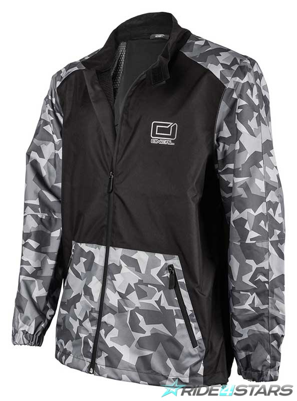 Bunda Oneal Shore II Jacket Black/Grey XS