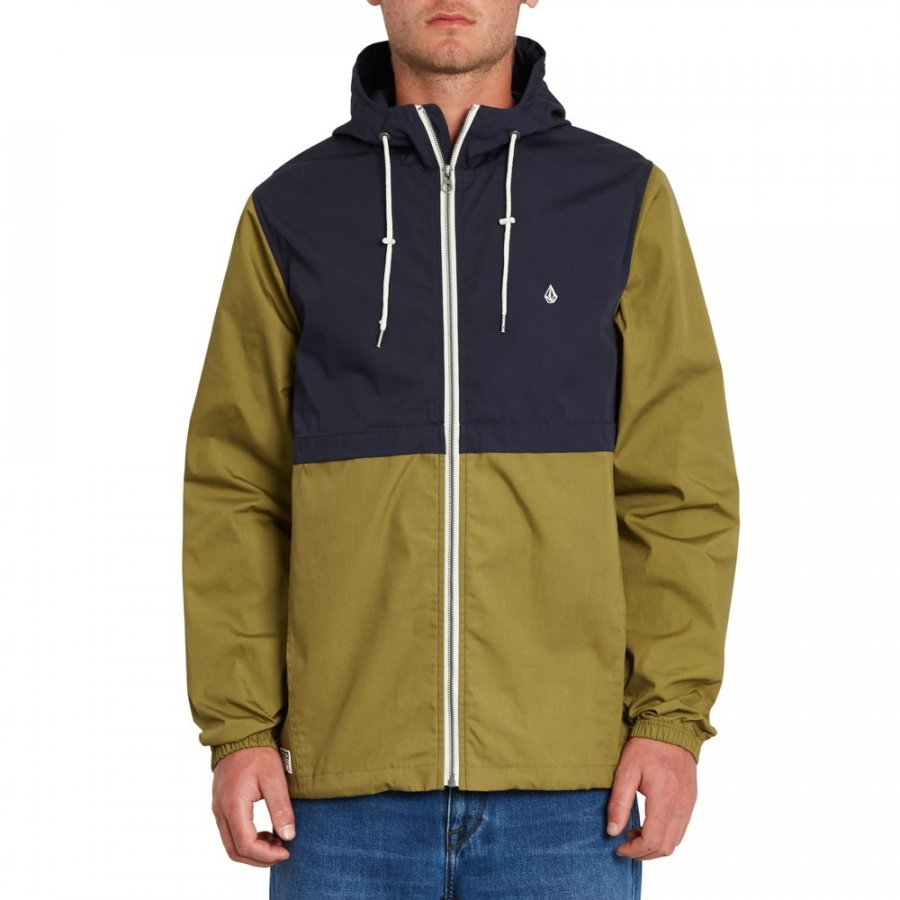 Bunda Volcom Howard Hooded Navy
