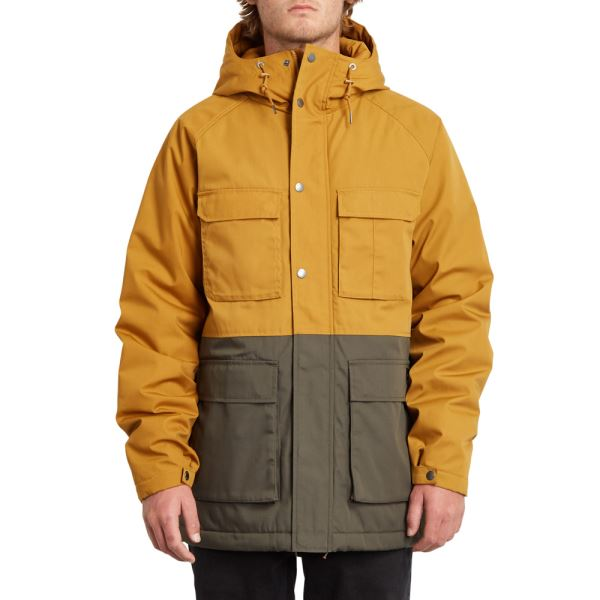 Bunda Volcom Renton Winter 5K Jkt Golden Brown
