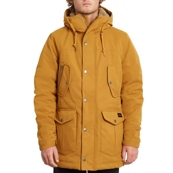 Bunda Volcom Starget 5K Parka Golden Brown
