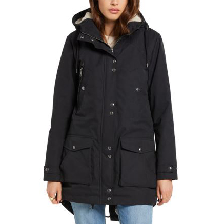 Bunda Volcom Walk On By 5K Parka Black