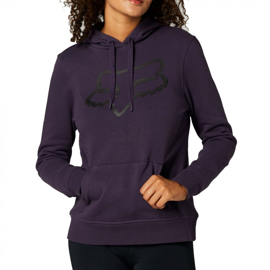 Dámská Mikina Fox Boundary Pullover Fleece dark purple