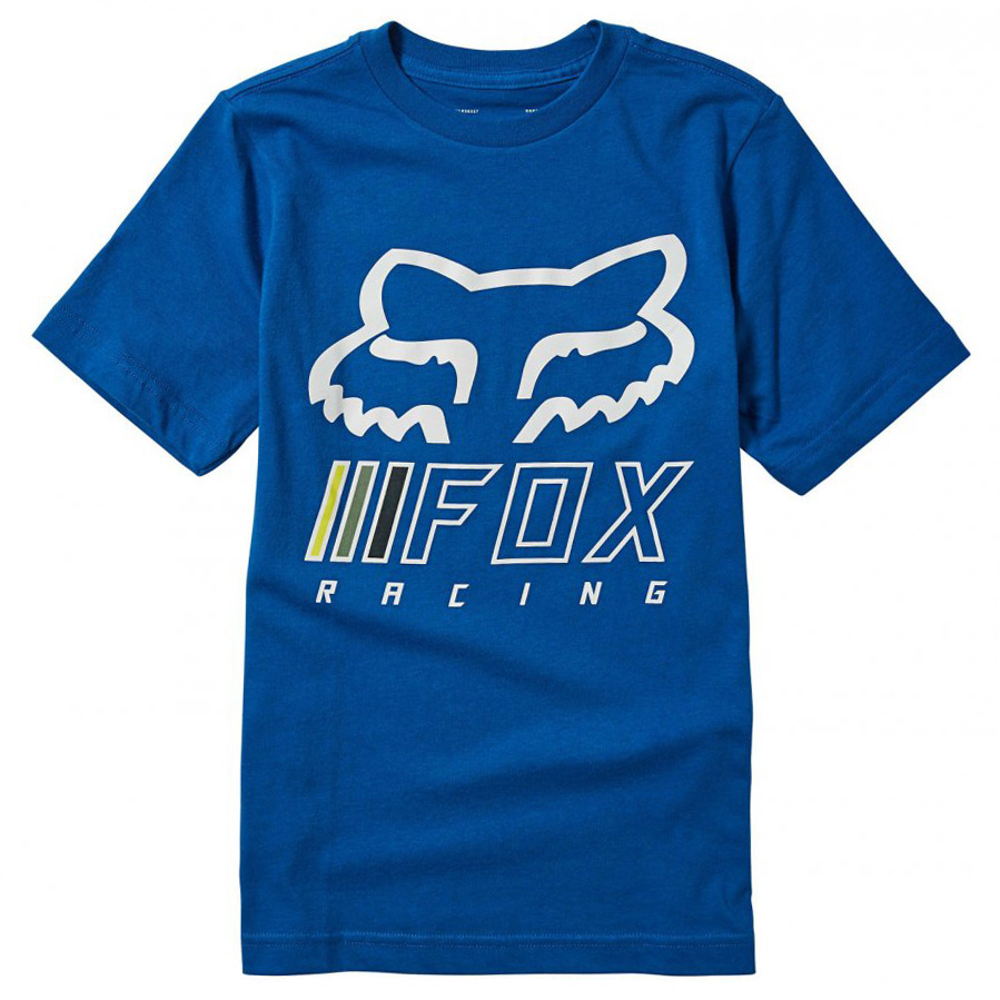 Dětské Triko Fox Youth Overhaul Ss Tee Royal Blue