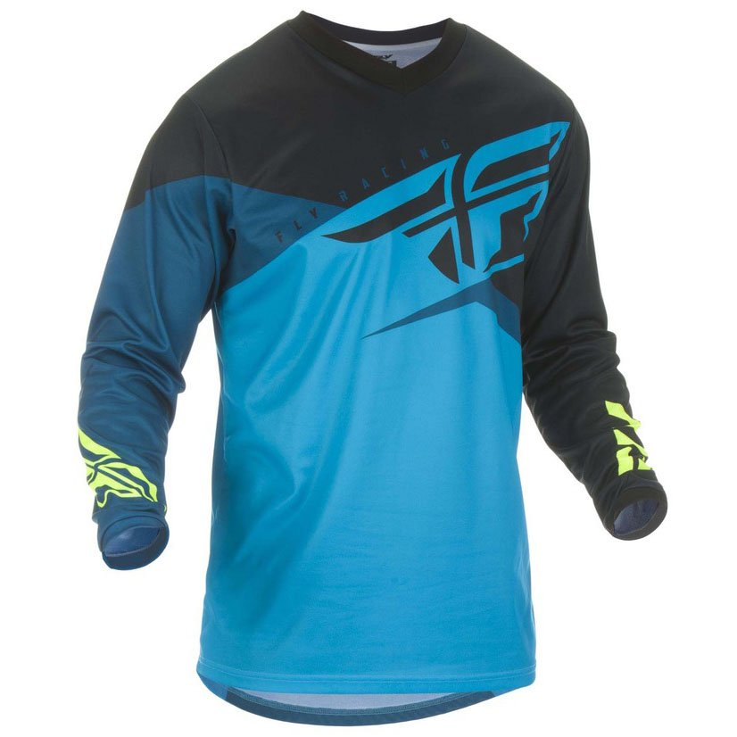 Dres Fly Racing F-16, 2019 blue/black/yellow fluo