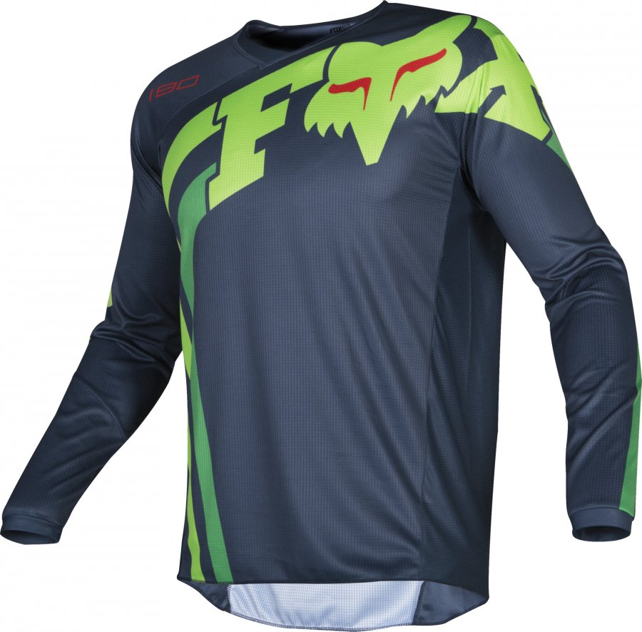 Dres Fox Racing 180 Cota Jersey NAVY