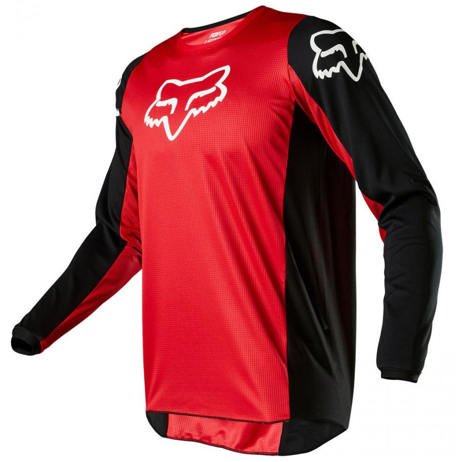 Dres Fox Racing 180 Prix flame red