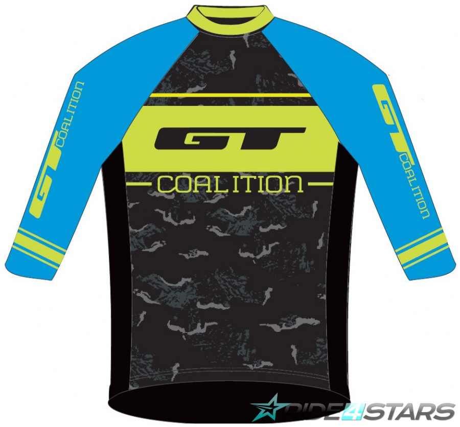 Dres GT Freeride Blue/Yellow