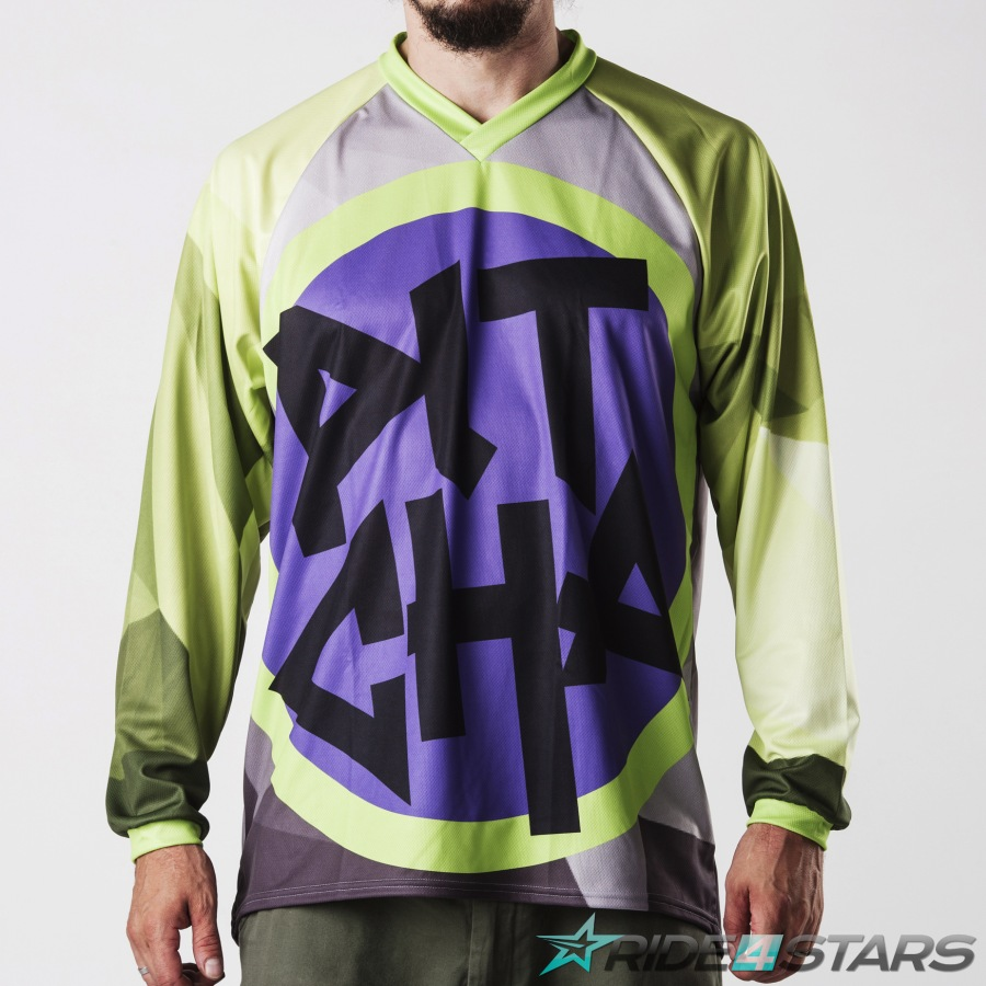 Dres Pitcha FORESTER LS acid yellow/purple