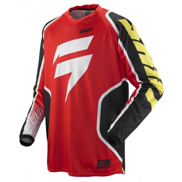 Dres Shift Racing Strike Retro Jersey 2013 Red