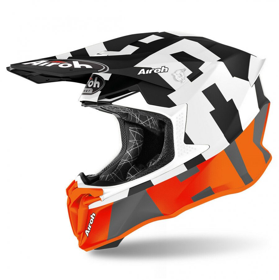 Helma Airoh Twist 2.0 Frame orange/grey matte