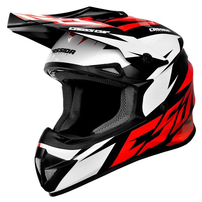 helma Cassida cross cup two red/white/black