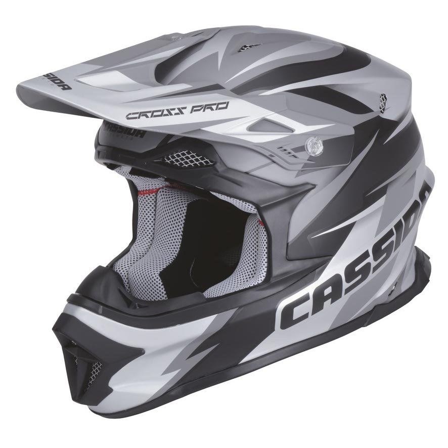 helma Cassida cross pro black matte/grey