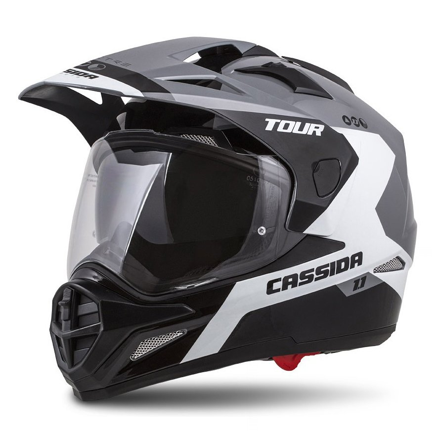 helma Cassida Tour 1.1 Spectre grey/white/black