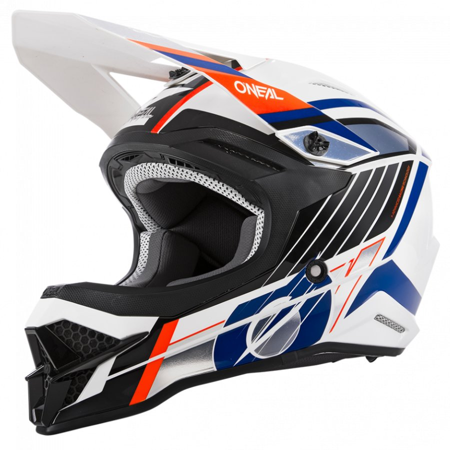 Helma Oneal 3series Vision white/black/orange