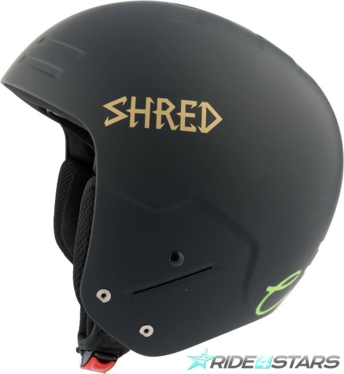 Helma Shred Basher Noshock LG Black/Gold M