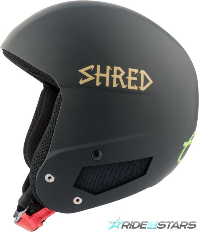 Helma Shred Mega Brain Bucket RH LG Black/Gold XS/S