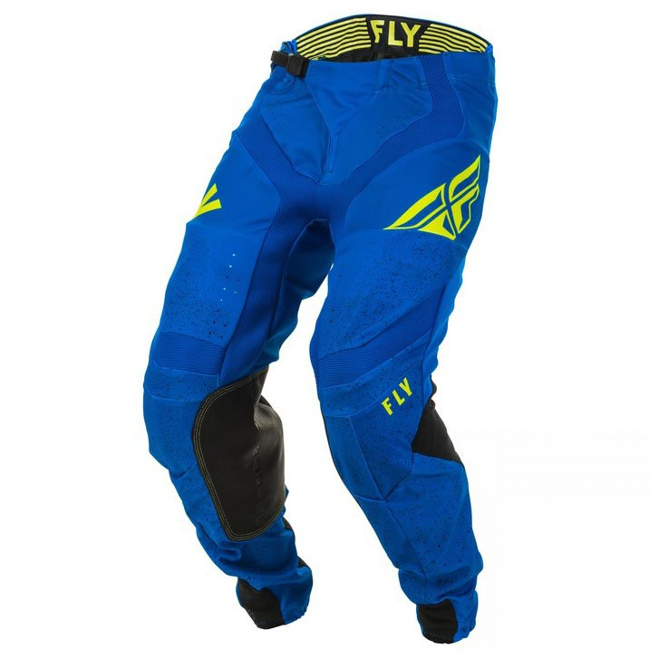 kalhoty Fly Racing Lite 2020 blue/black/yellow fluo